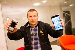 Bjørn Tore Hagberg er gründer innen App