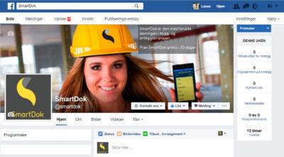 SmartDok Facebookside