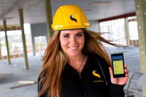 SmartDok på mobilen hjelper snekkere