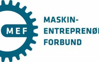 Maskinentreprenørenes forbund logo MEF