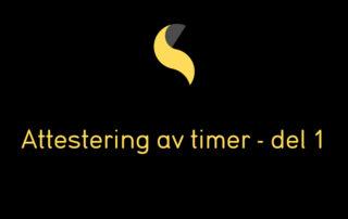 Attestering av timer SmartDok
