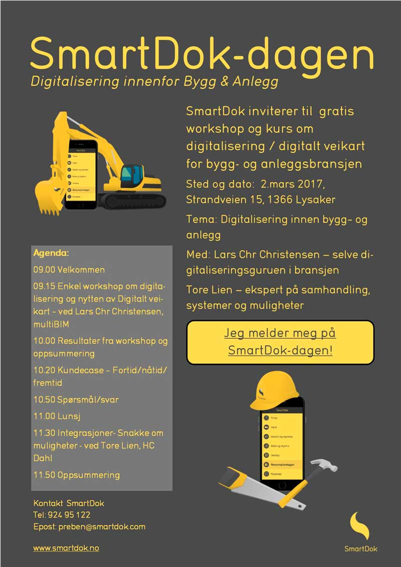 SmartDok-dagen annonse