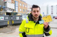 SmartDok sin byggekortleser