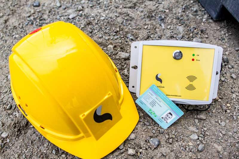 Byggekortleser mannskapsliste SmartDok