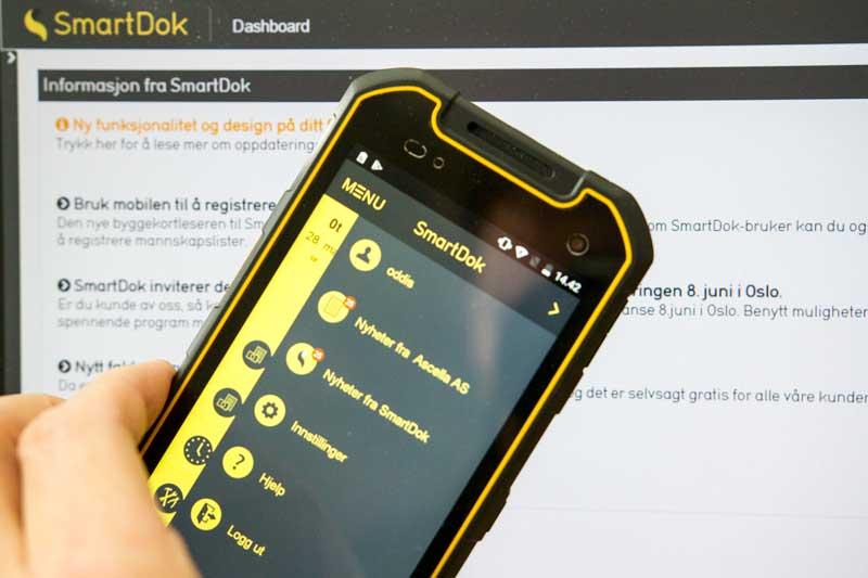 funksjonalitet og design på ditt firmas infotavle