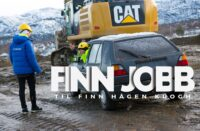 Finn Hågen Krogh Gravemaskin
