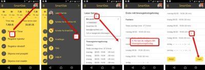 timeregistrering smartdok forslag