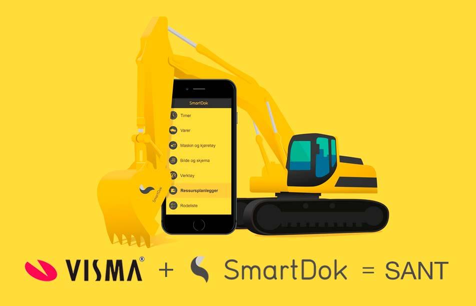 Visma + SmartDok = sant