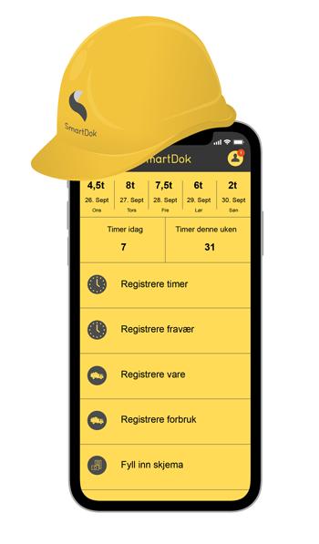 SmartDok app bygg anlegg