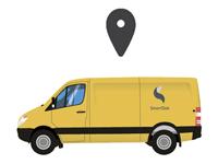 Ha enkel kjørebok i SmartDok-Appen