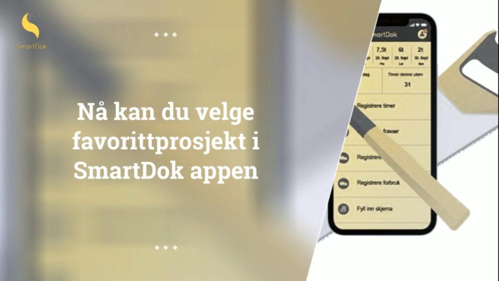 favorittprosjekt i SmartDok