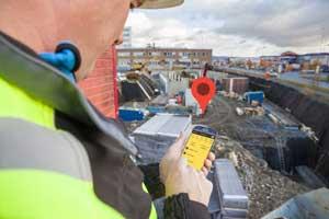 Geofence gir deg som prosjektansvarlig mulighet til å definere et digitalt gjerde rundt et prosjektområde slik at innregistrering med SmartDok-appen eller SmartDok UE-appen kun blir mulig dersom man befinner seg innenfor området