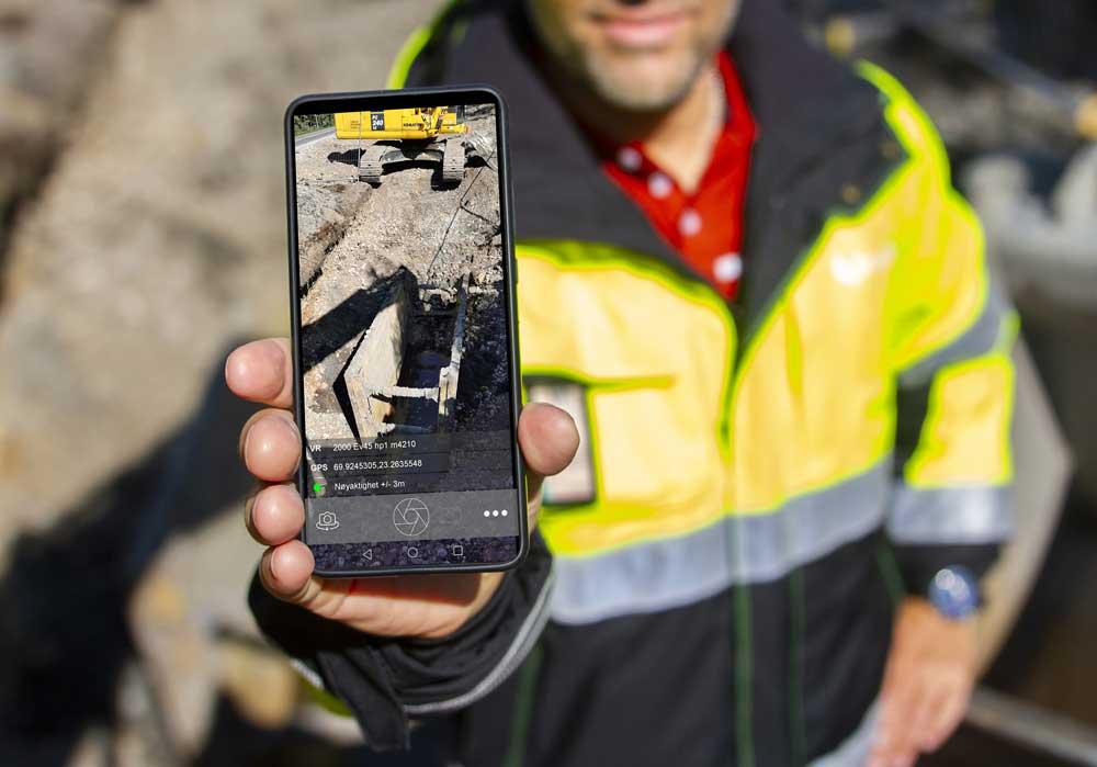 Bildefunksjonen i SmartDok oppdaterer GPS og vegreferanse