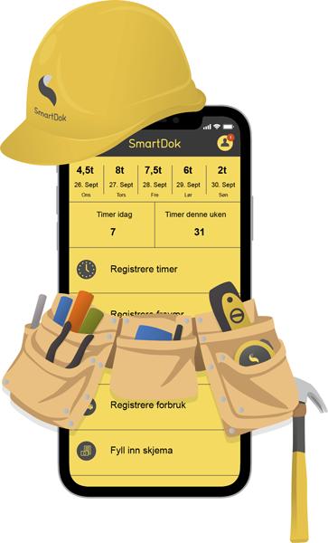 Bygg og anlegg app smartdok