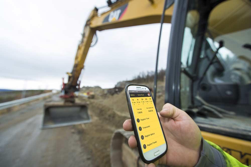 bygg og anlegg bruker SmartDok app