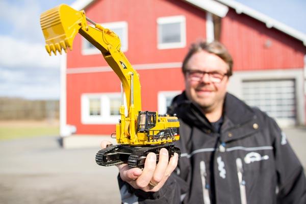 Når VG Maskin går igang med fornminnegravinger for Akershus Fylkeskommune har de tatt i bruk et bransjetilpasset rapporteringssystem.