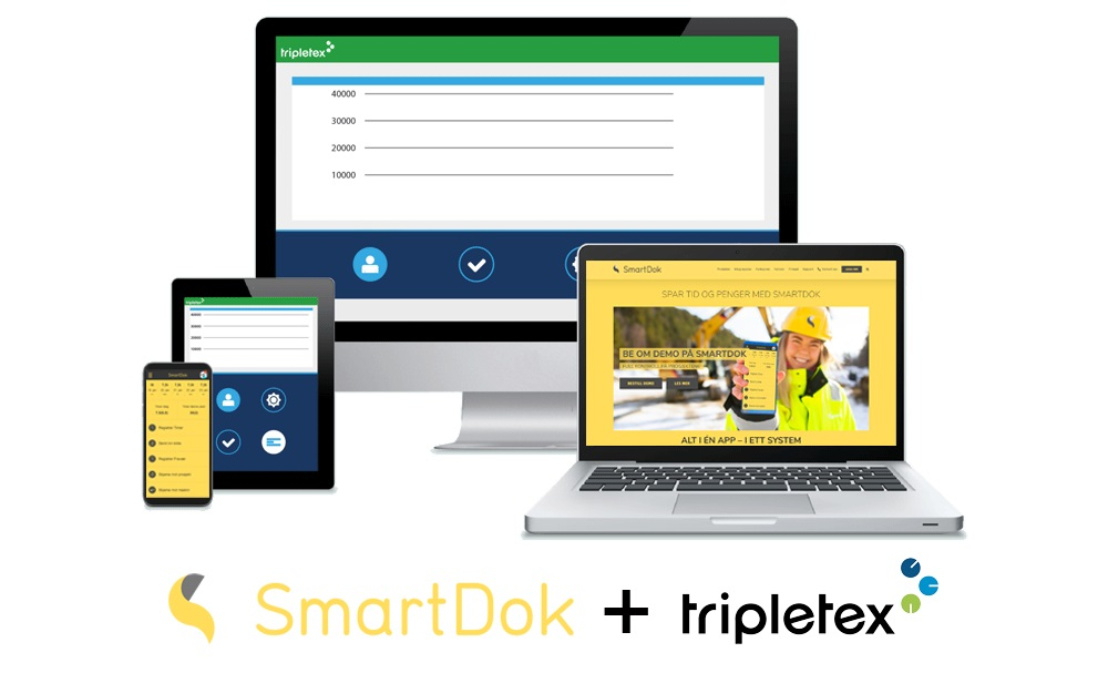 Integrasjon Tripletex SmartDok