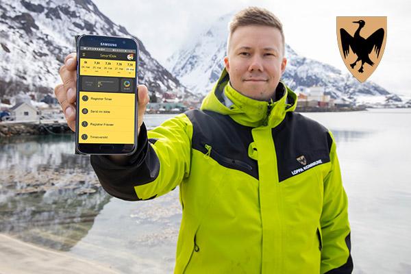 Kenneth André Johannessen er driftssjef i Loppa kommune, og jobber mest med det administrative, som innebærer personalansvar, styring av ressurser, og en del saksbehandlinger ut mot de lovverkene vi forvalter.