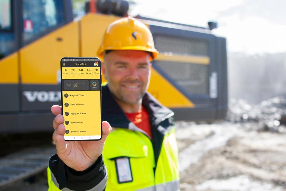 SmartDok for bygge og anlegssbransjen