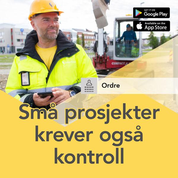 Små prosjekter krever kontroll