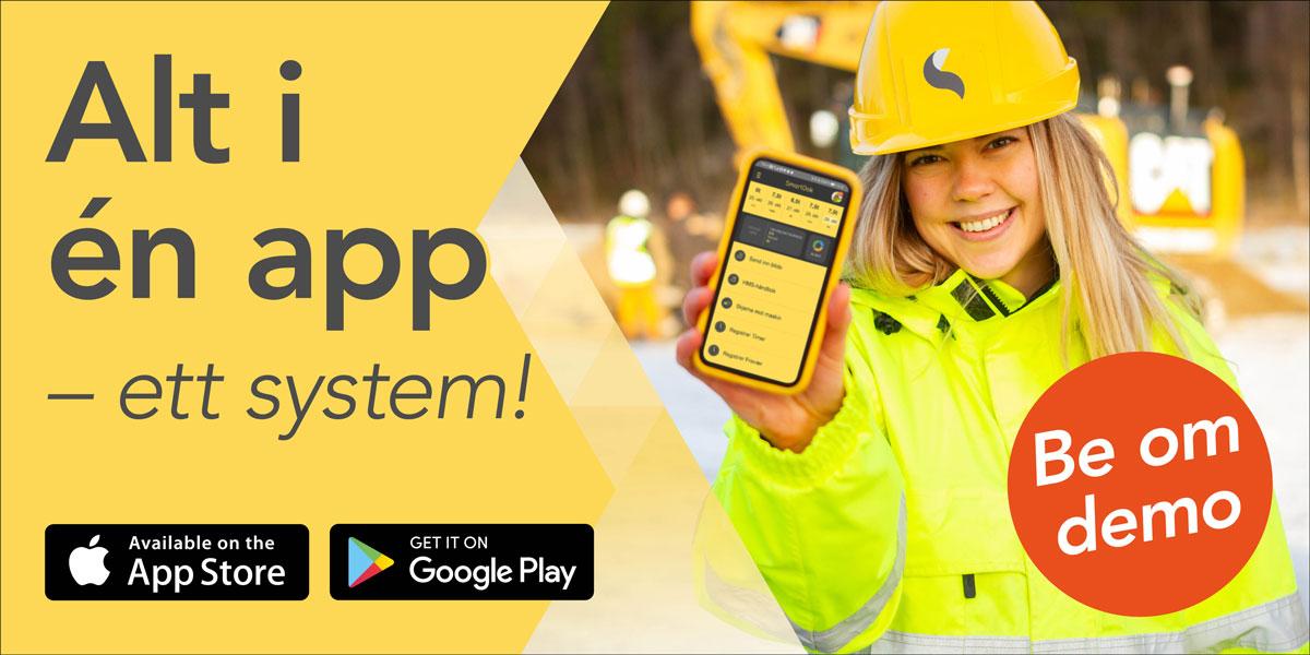 SmartDok - Norges beste app for bygg og anlegg