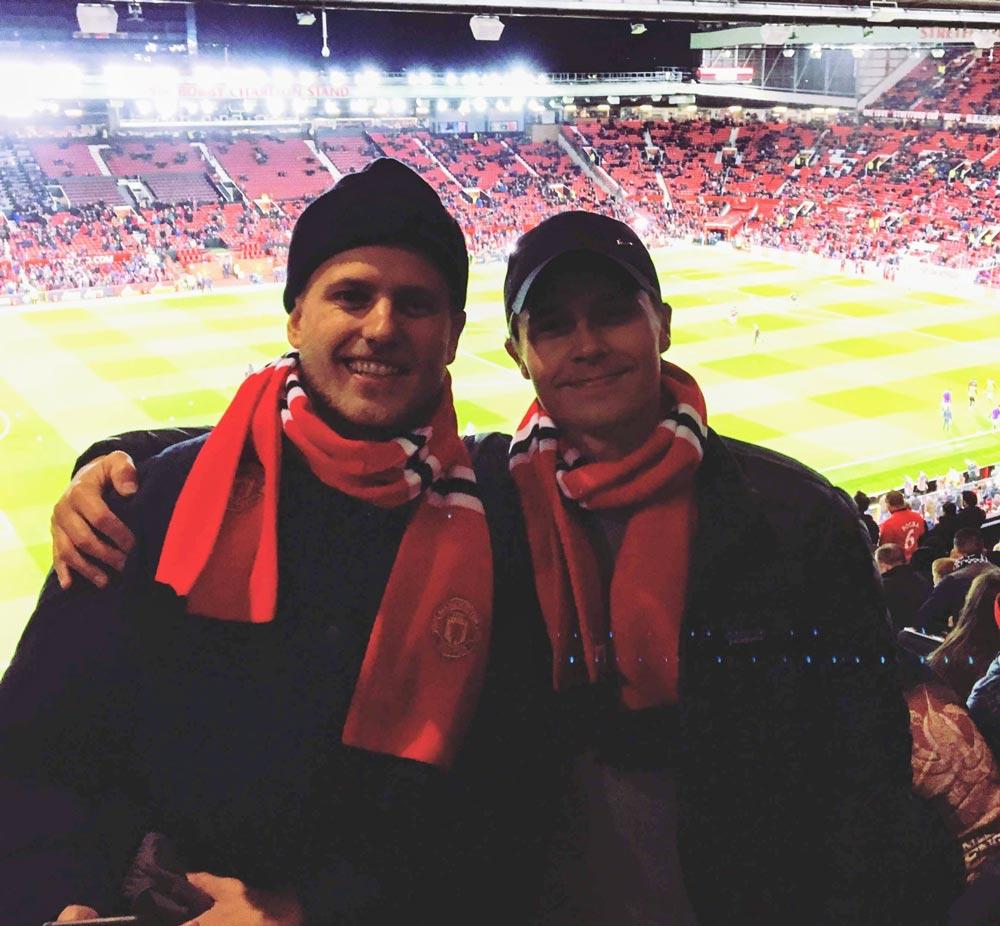 Manchester United Preben og Anders