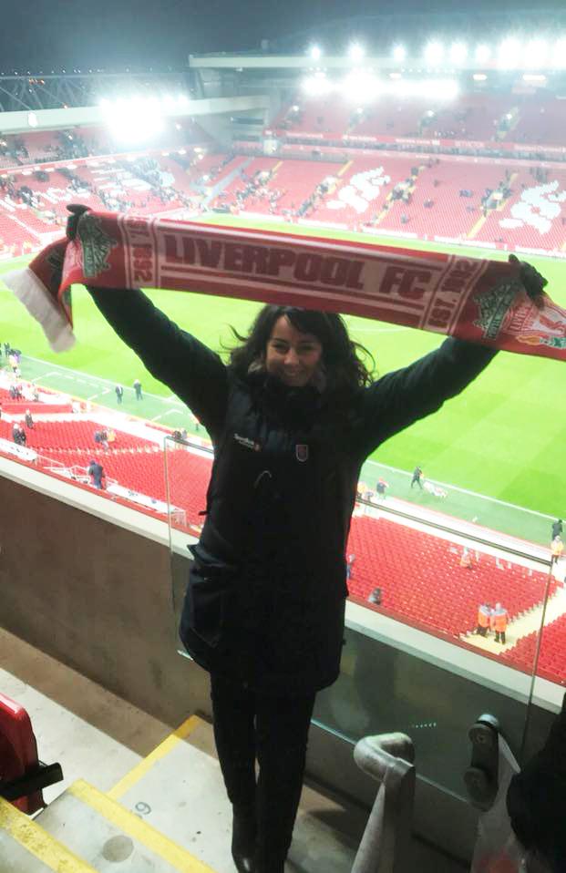 Gunn Elin - Liverpool FC