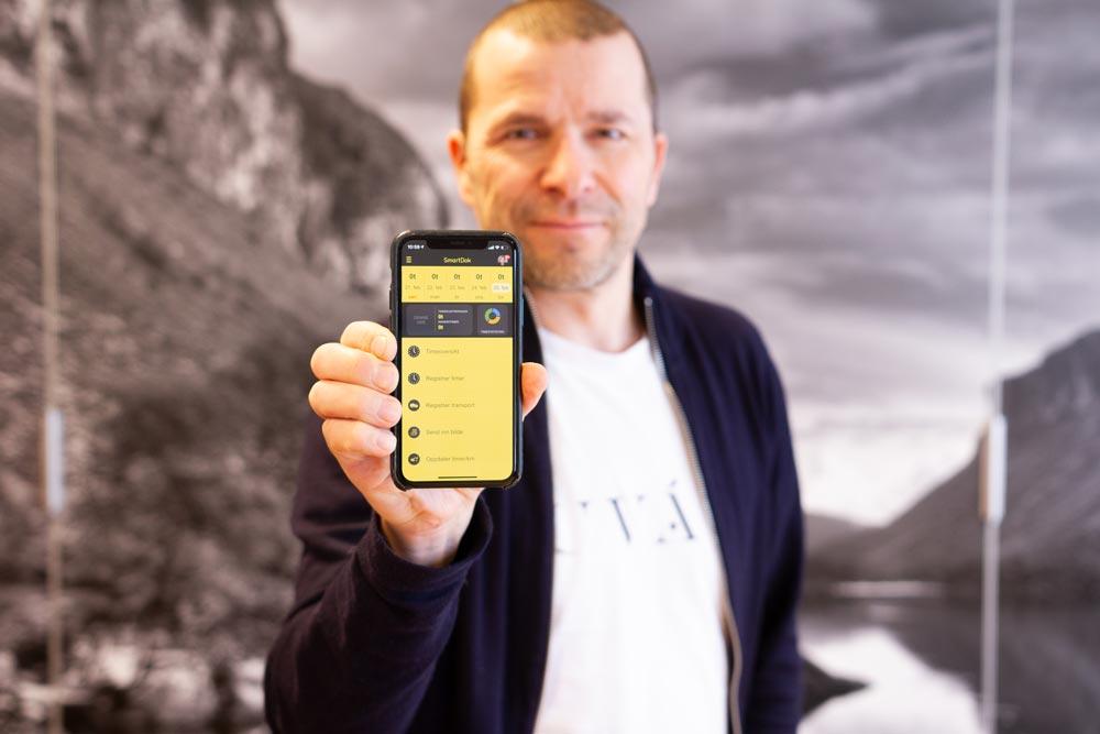 Gründer av SmartDok Bjørn Tore Hagberg