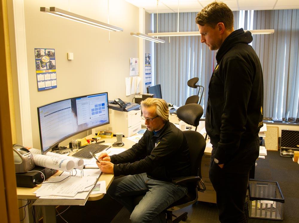 Bjarne Moxness og Steffen Nerdal