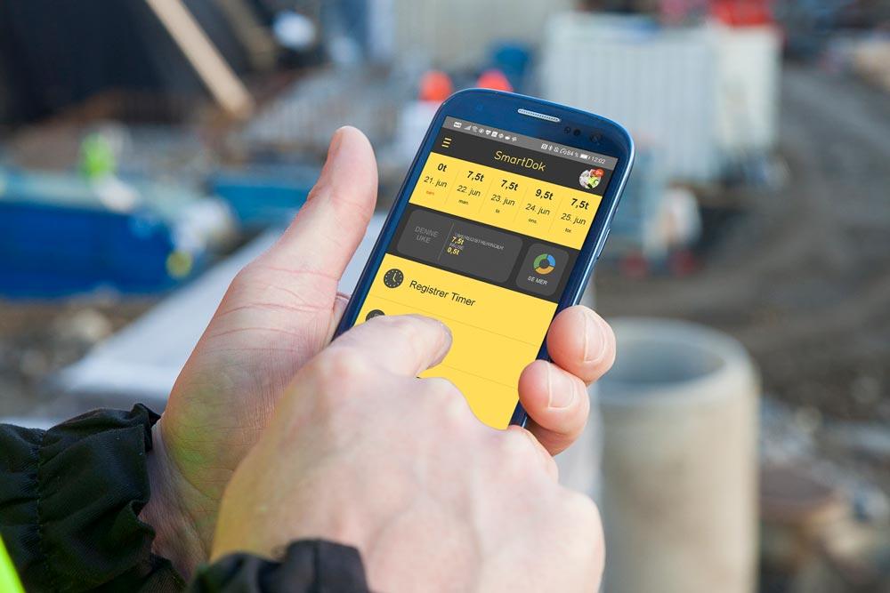 SmartDok-appen har så langt i år gjennomsnittlig blitt oppdatert en gang i uken, noe som betyr at vi har hatt mange nyheter og forbedringer som har kommet ut til alle våre brukere