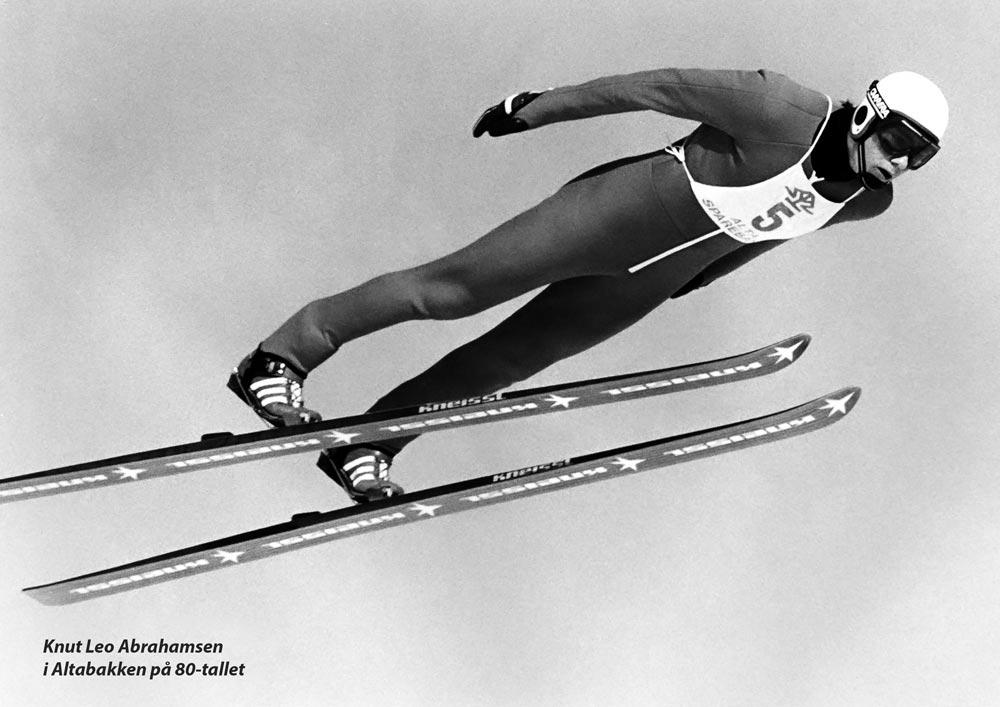 Skihopp pg kombinertløper Knut Leo
