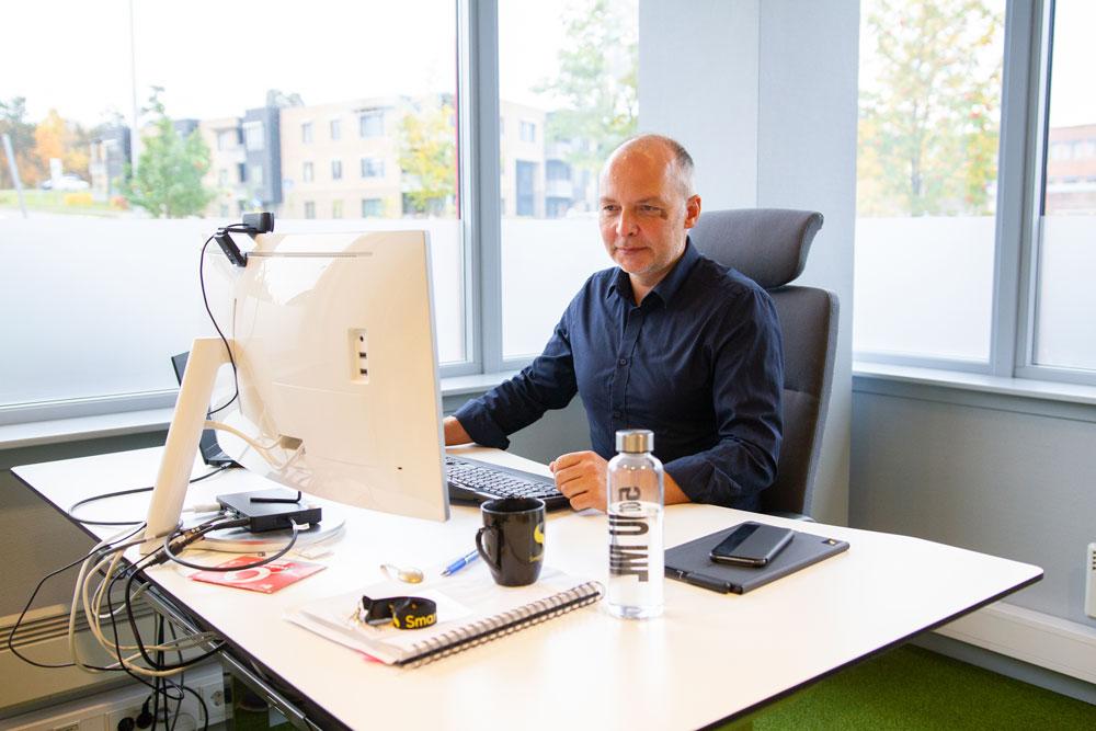 Rune Haddal, R&D Manager i SmartDok - appen er i utvikling