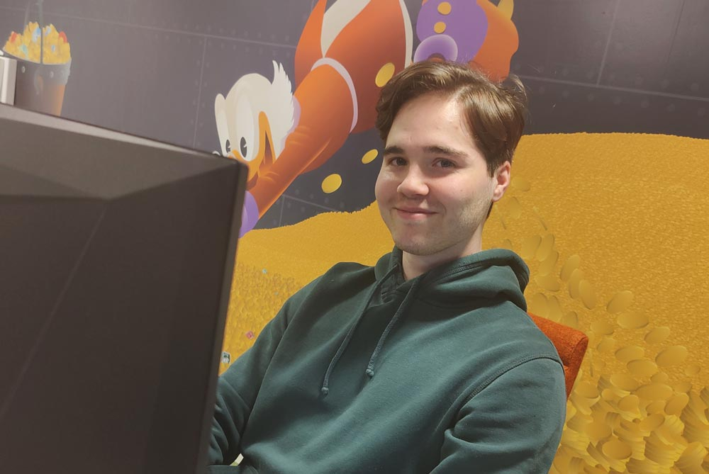 Sebastian Lyng Johansen programmering jobb