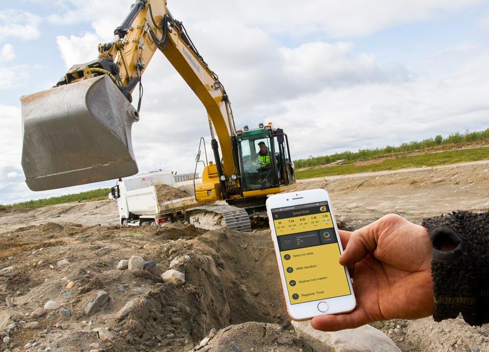 SmartDok massetransport app